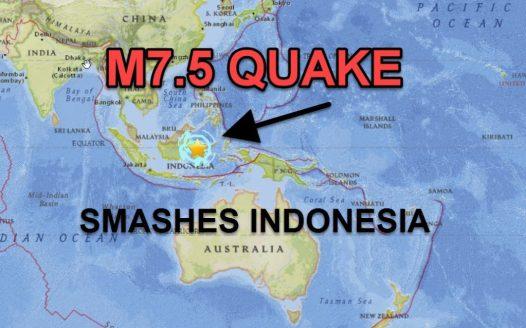 Grande terremoto seguido de tsunami atinge a Indonésia 1