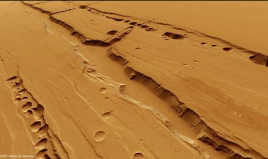 subterrâneo de Marte