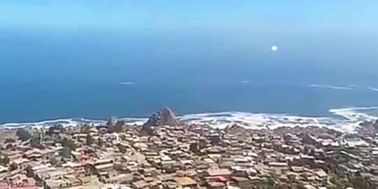 OVNI do tipo Foo Fighter pode ter sido filmado no Chile