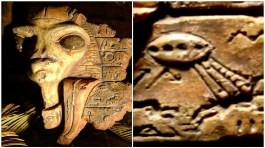 Alienígena é descoberto dentro da Grande Pirâmide do Egito