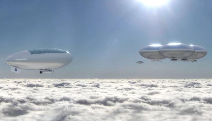 NASA quer enviar humanos até Vênus – Veja porque esta é um ótima ideia Bal%C3%B5es-Venus