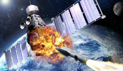 Caças russos são vistos testando armamentos espaciais não identificados