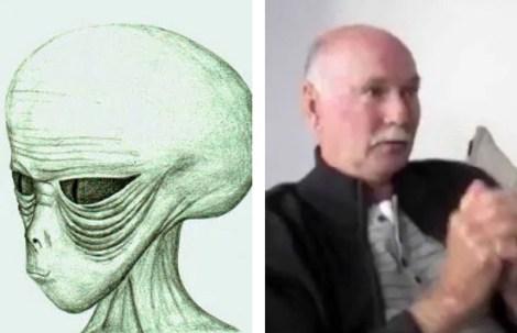 Homem alega ter ficado 10 dias com alienígenas