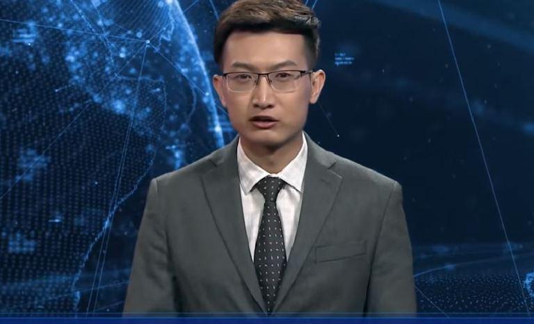Inteligência Artificial mais próxima de controlar a humanidade: Novo âncora de notícias chinês é um robô IA-%C3%A2ncora