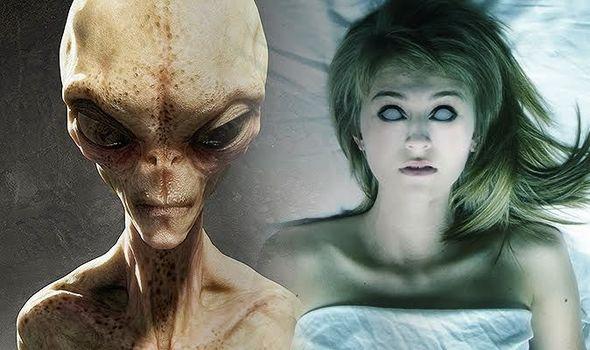Abdução alienígena: Alienígenas paralisam os humanos enquanto estes estão completamente conscientes