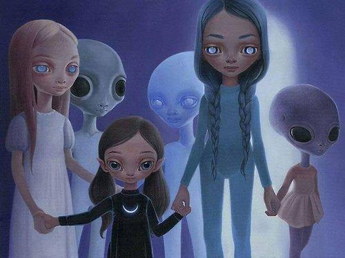 Estariam os ETs conduzindo a hibridização da raça humana?