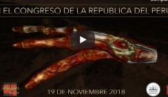 Transmissão ao vivo sobre as Múmias de Nazca