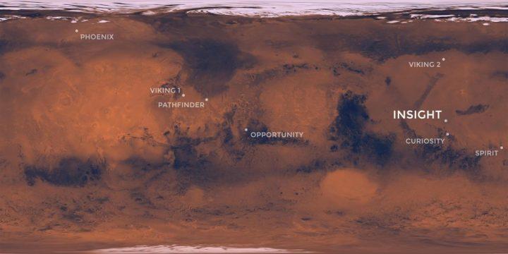 Sonda da NASA que irá pousar em Marte no dia 26 de novembro já tem local definido 1