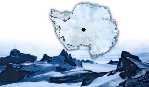 """Misteriosa """"fonte radioativa""""está derretendo o gelo da Antártica, de baixo para cima 1"""