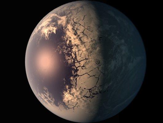 Astrônomos focam novamente em planetas do sistema TRAPPIST-1 1