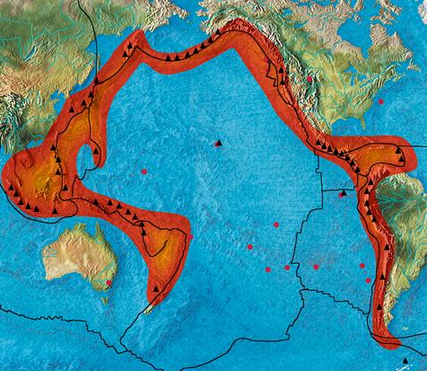 Vulcões do Anel de Fogo entram em erupção - Rabino alega ser o Fim dos Tempos