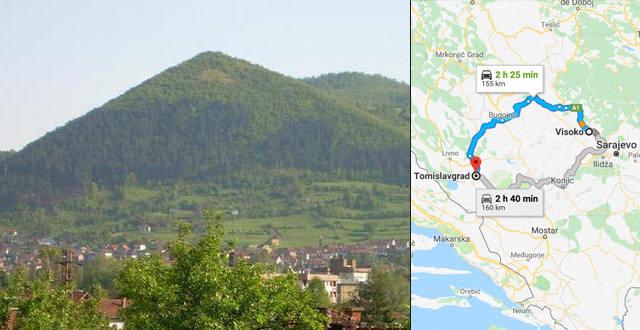 Rastros de uma civilização de 17.000 anos são encontrados na Bósnia-Herzegovina 1