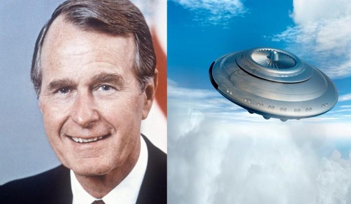 George Bush Sr. levou o segredo dos OVNIs com ele para o túmulo