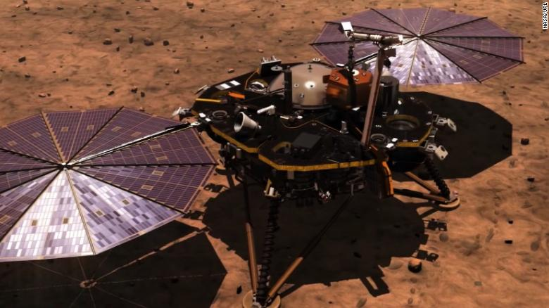 Os sons de Marte são escutados pela primeira vez na Terra