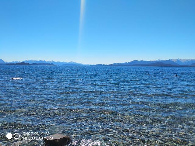 OVNI aparece abaixo de raio de luz em Bariloche, na Argentina 1