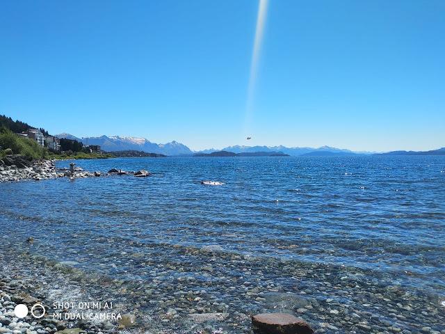 OVNI aparece abaixo de raio de luz em Bariloche, na Argentina 2