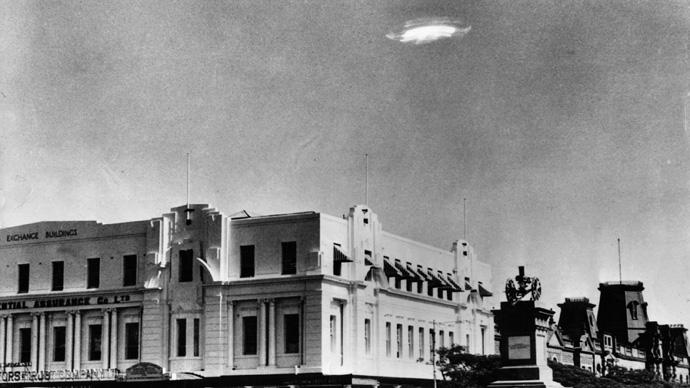 15 fotos de OVNIs tiradas antes da existência de computação gráfica e drones 3