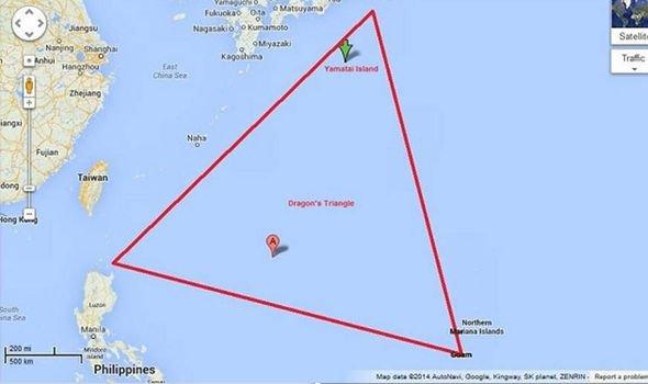 o novo Triângulo das Bermudas