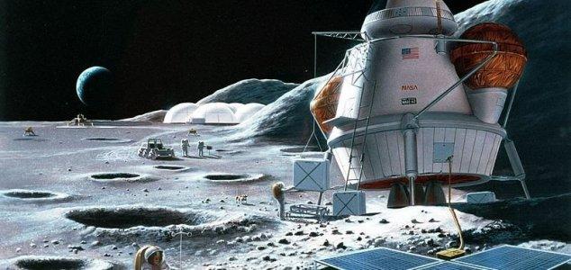 NASA está planejando ir até a Lua e lá ficar