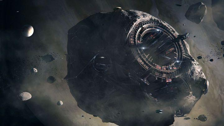 Cientistas planejam construir uma estação espacial dentro de um asteroide