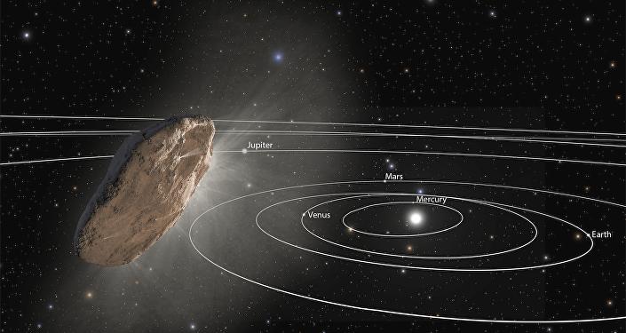 Importante astrônomo trabalha em equação para provar que nave alienígena nos visitou
