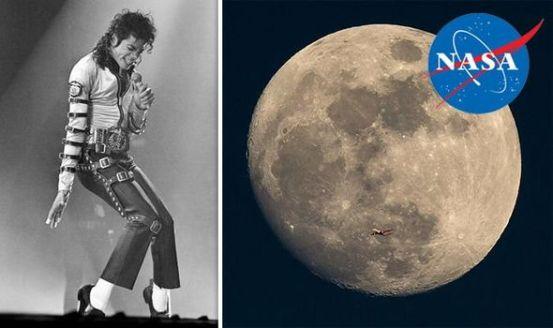 NASA considerou seriamente mandar Michael Jackson para a Lua