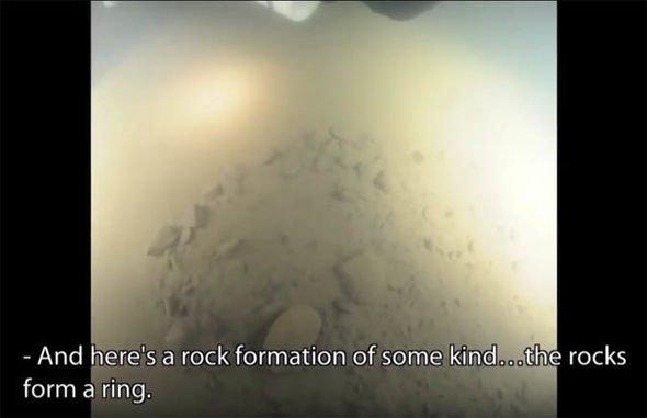 Mergulhador revela que a Anomalia do Mar Báltico é concreto moldado por alguém 1