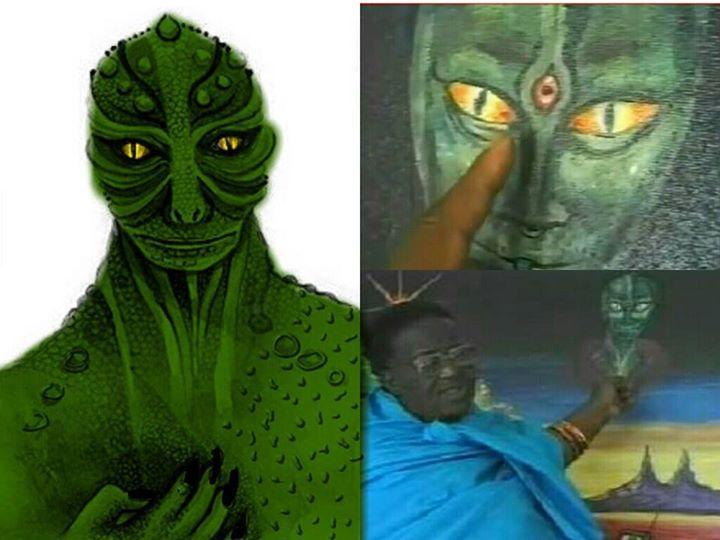 Revelações sobre reptilianos por xamã africano