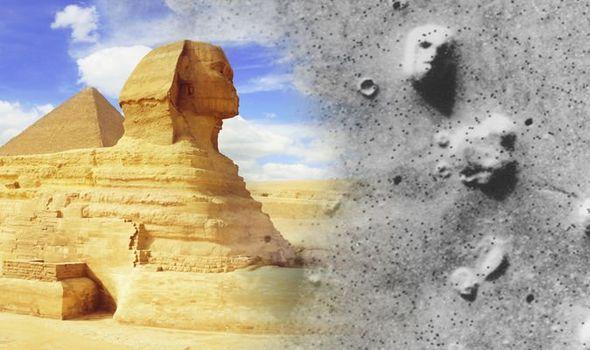 """A Grande Esfinge está """"ligada"""" à Face de Marte"""