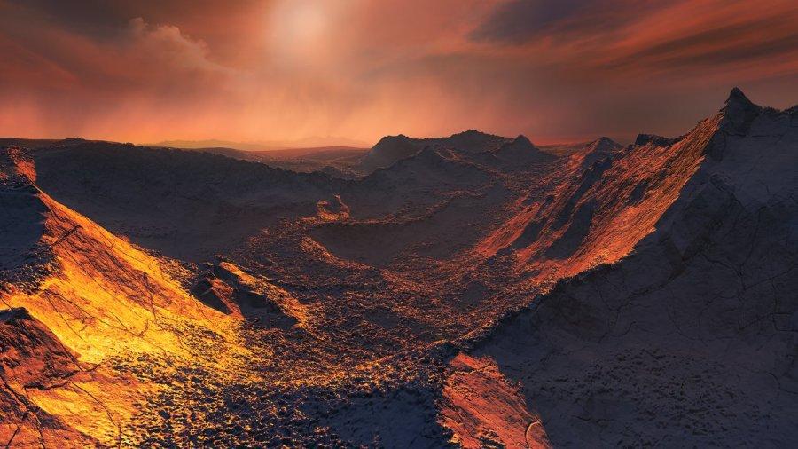 Seria o ambiente do planeta Barnard b um lugar para a vida evoluir? 1