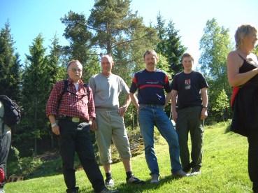 Noen av de faste utenbygds deltakerne på turene våre - disse er fra Eidså/Kristiansand