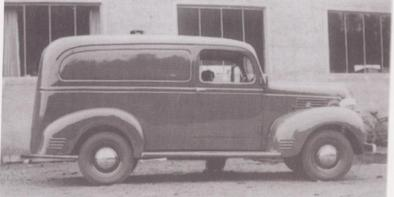 Enda en varevogn, denne gang en Dodge fra 1939.