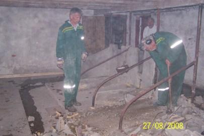 Kenneth og Harald Kleveland - uten deres hjelp hadde vi nok slitt med denne jobben.