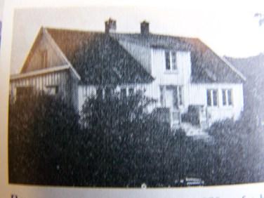 Det gamle huset i Skora/Bergemonen som brant ned en gang på 1950-tallet