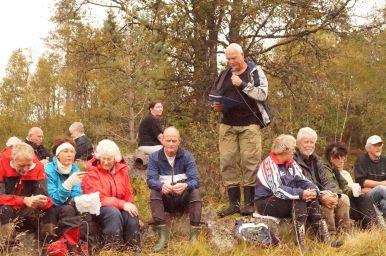 Foran fra venstre: Ole Per Strædet, Åshild Sangesland, Solveig Sangesland, Terje Sangesland, Torfinn Hageland, Daghild og Kjell Anders Greibesland, Wally Godhei, Helge Skuland