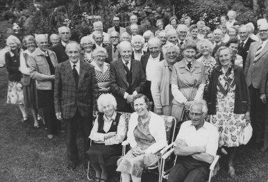 Pensjonistforeningens tur til Tone Frustøl på hennes 64-årsdag, 4. juli 1983.