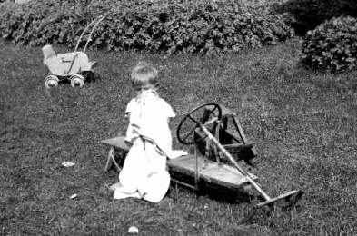 Bilder viser en ung Øyvind Føreland