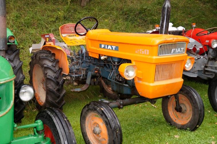 En italiensk traktor - et merke som er kjent for mange: Fiat.