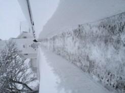 Øvrebø kirke snøvinteren 2017-18