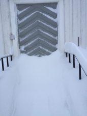 Øvrebø kirke vinter/vår 2018
