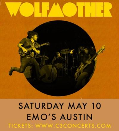 Wolfmother Emos Austin