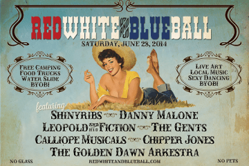 Red White and Blue Ball
