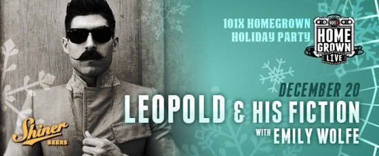 Leopold and His Fiction Homegrown Live