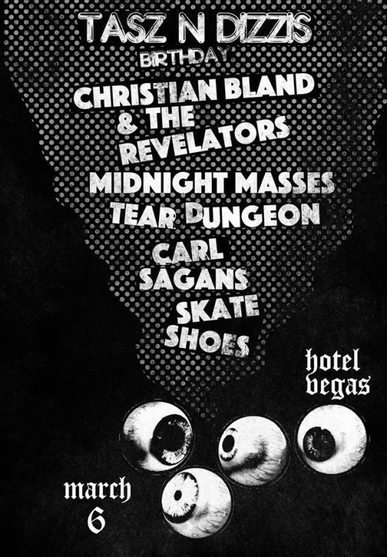 TasZ Birthday Party Hotel Vegas Christian Bland and the Revelators