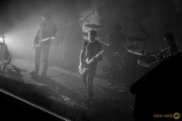 Photos from Explosions in the Sky live at The Paramount Theatre in Austin, TX.