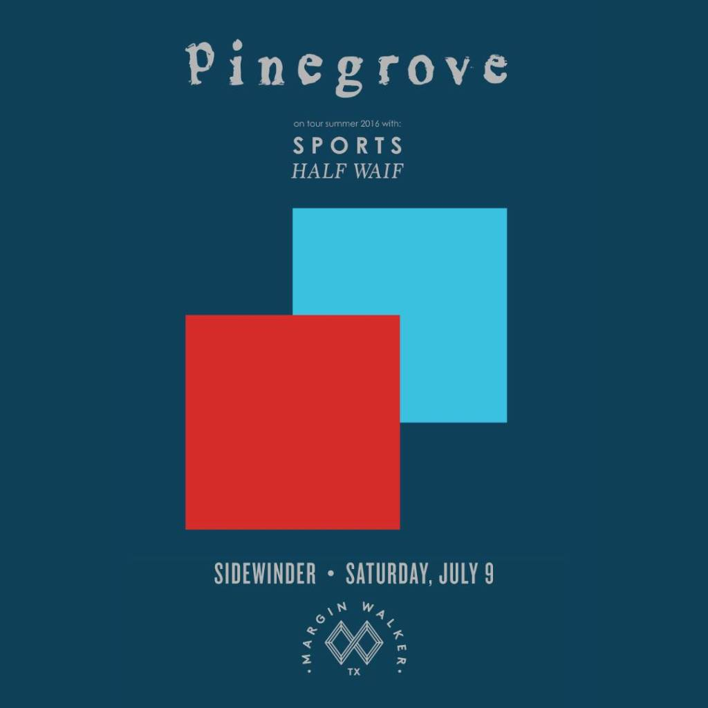 Pinegrove Half Waif Sports The Sidewinder