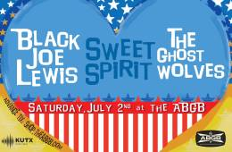 Sweet Spirit The Ghost Wolves Black Joe Lewis ABGB