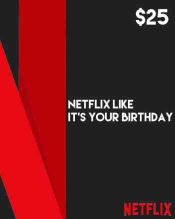 $25 Netflix Gift Card