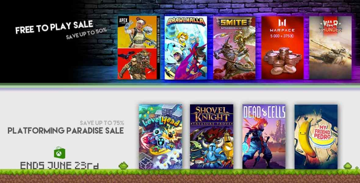 Xbox Store Deals with Gold - Ends June 23rd