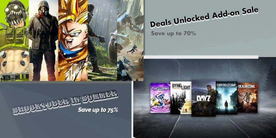 Xbox Store Shocktober in Summer Deals | Ends July 6th